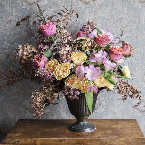 4 tips på hur du gör blomsterarrangemang utan oasis