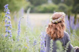 Blåeldshav och sommarlovsrufsiga hår