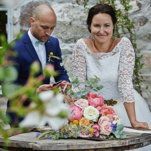 Om att göra sina egna blommor på sitt bröllop
