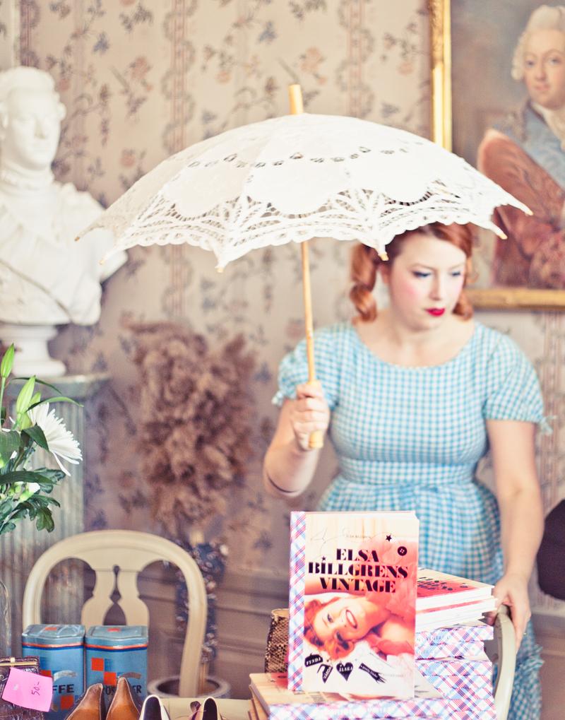 Elsa Billgren, vintagebloppis