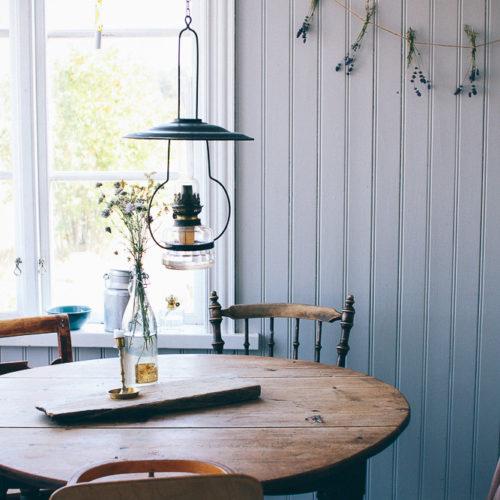 Hemma hos bloggaren och stylisten Emma Sundh på Gotland