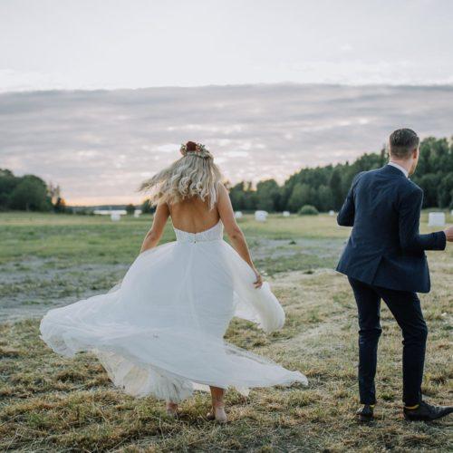 Aussie-bröllop i Norrtälje