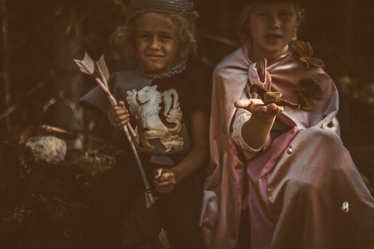 kids and the woods