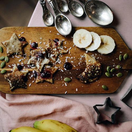 Bananplättar med kärlek