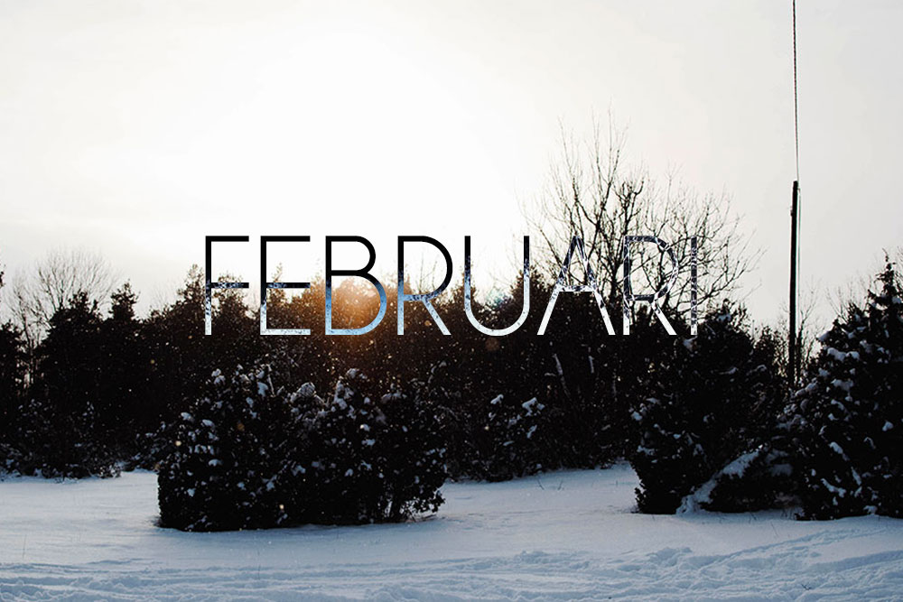 Mitt februari