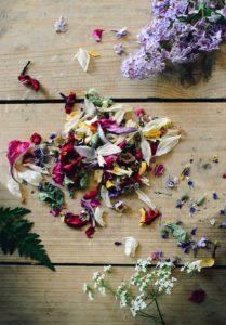 DIY blomsterkonfetti