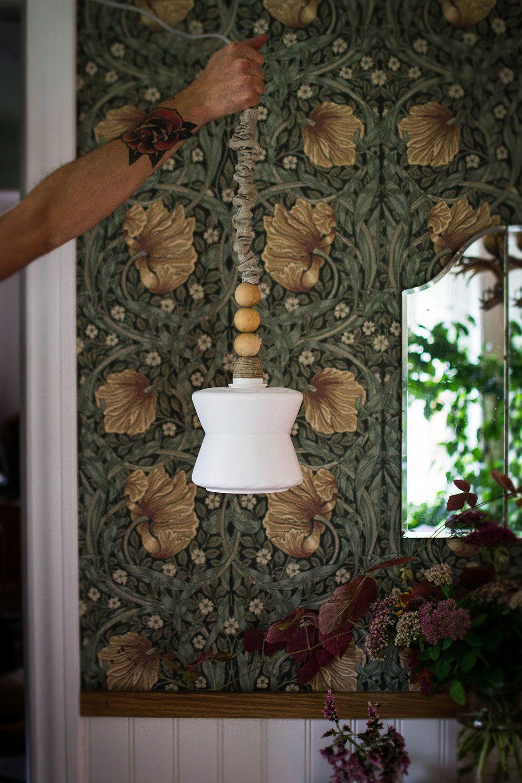 DIY omgjord lampa