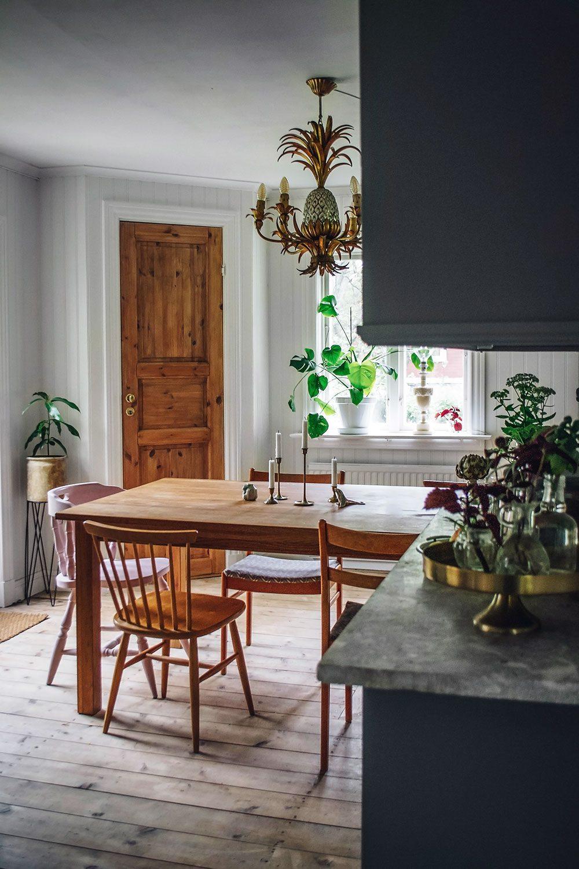 En titt i vårt kök och tankar kring renoveringen