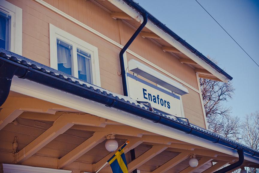 Enafors tågstation