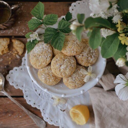 Recept på de godaste små citronkakorna
