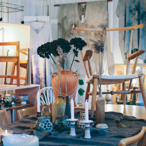 Ett besök i Stockholms finaste vintagebutik; Swedish Nature Colllaborations
