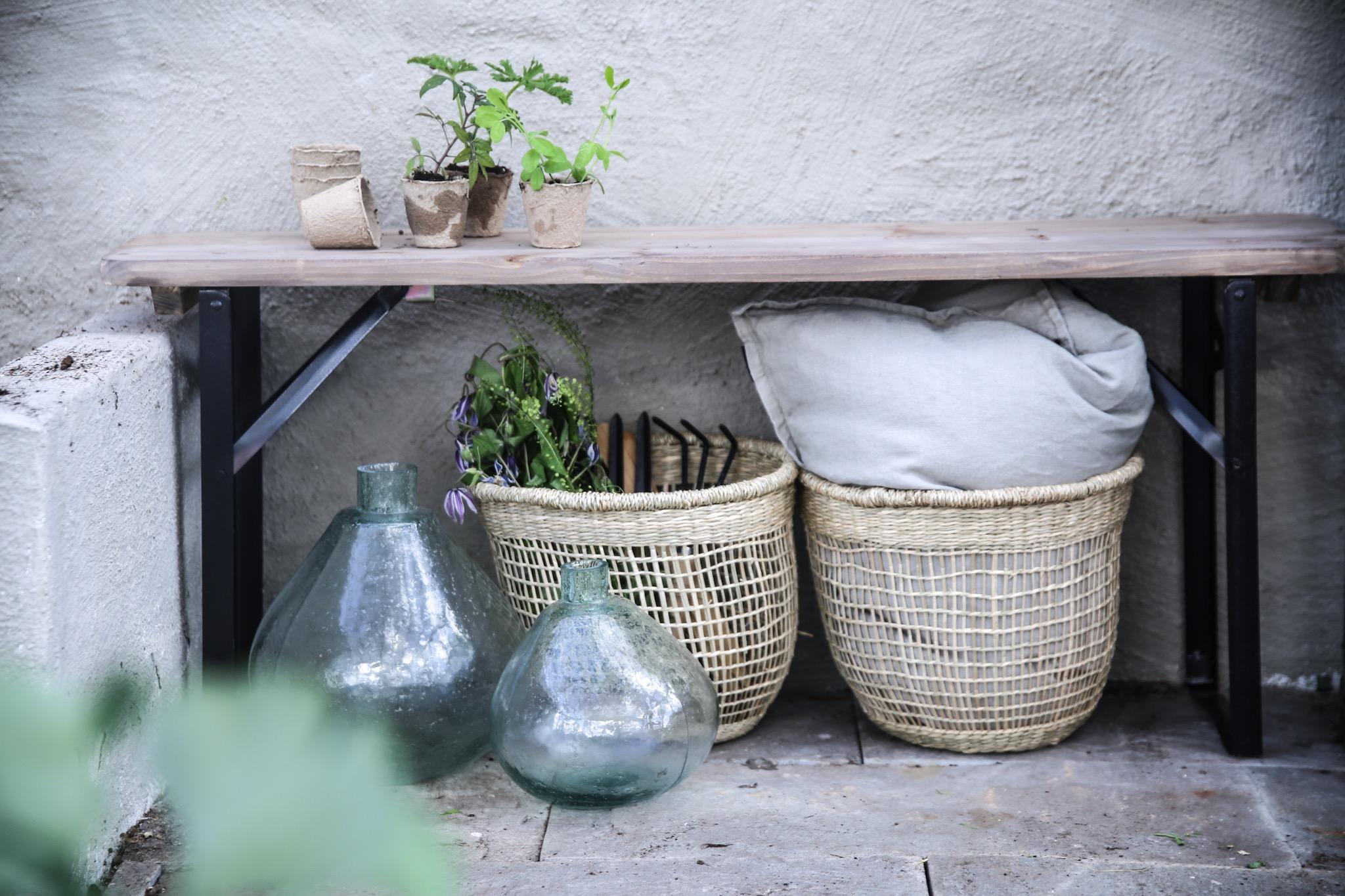 Anna Kubel växthus granit korgar