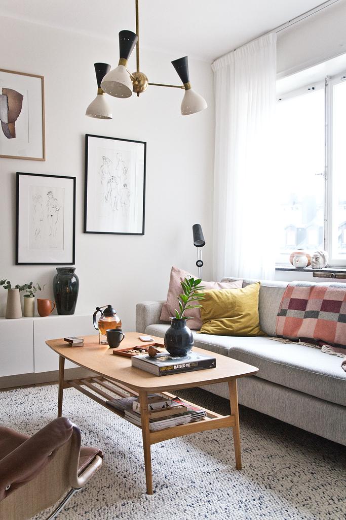 Hemma hos Anna Lidman - foto Isabelle Pedersen