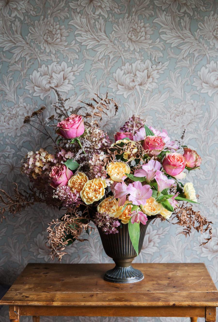 Februaribuketten, blommor,