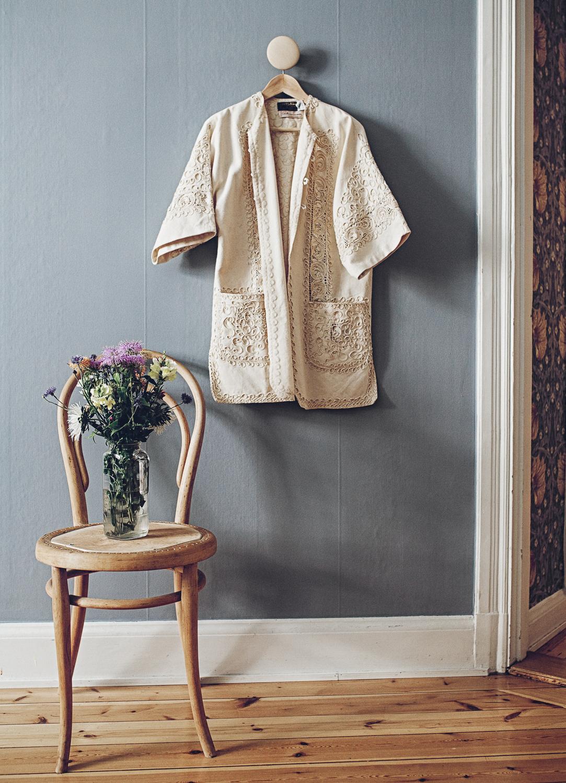 inredning sovrum kimono bodil vintage