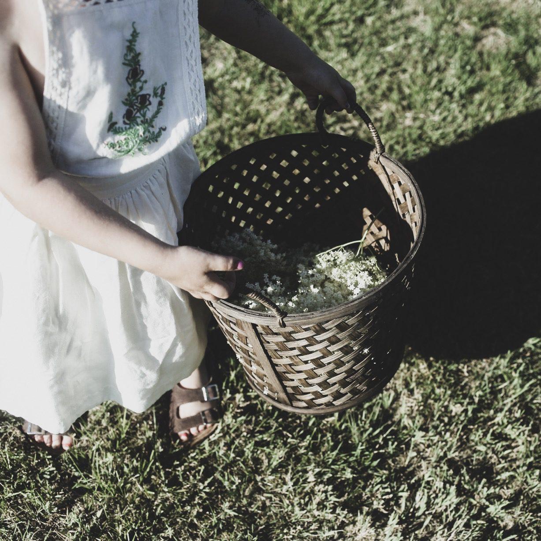 Lovely life barn trädgård flädersaft