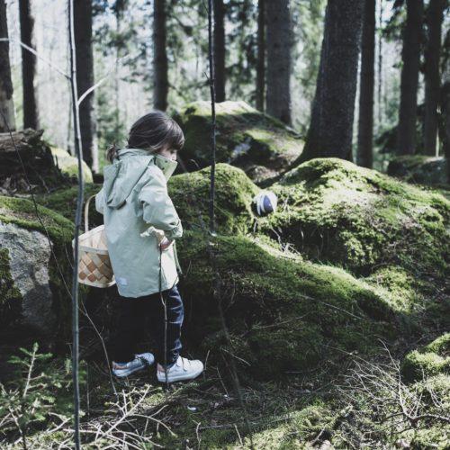 Årets äggjakt i skogen