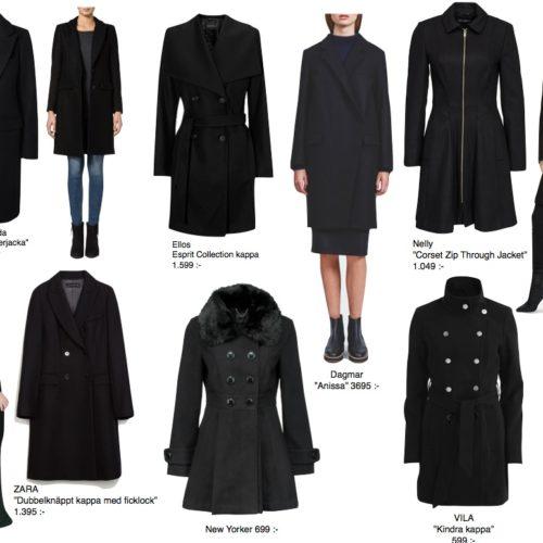 Den perfekta svarta kappan