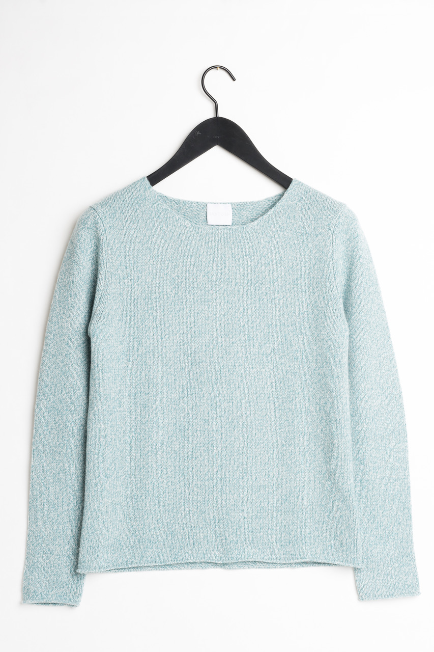 kashmir cashmere sweater santosh blue