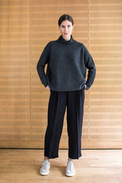 kashmir tröja cashmere sweater grey