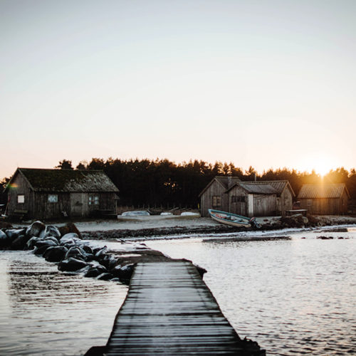 Soliga dagar på ön