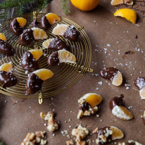 Favoritrecept; chokladdoppade clementiner