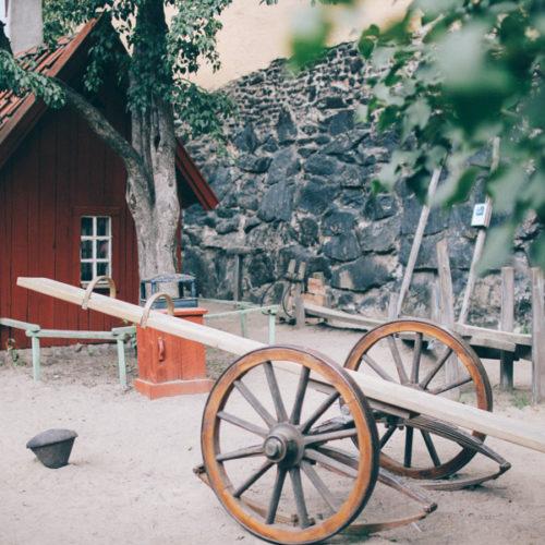 En sommarlovsdag på Bryggartäppan i Stockholm