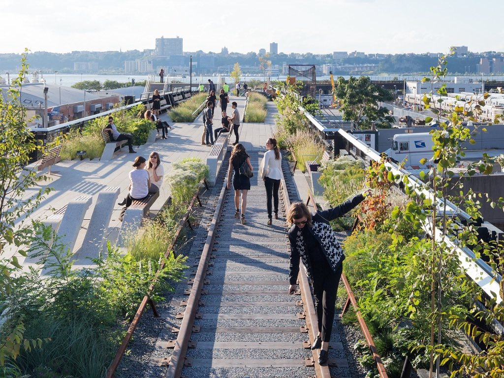 resan till new york; the high line - lovely life