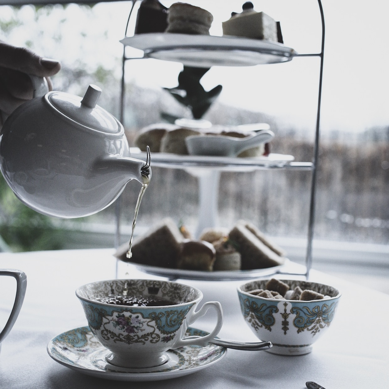 London after noon tea