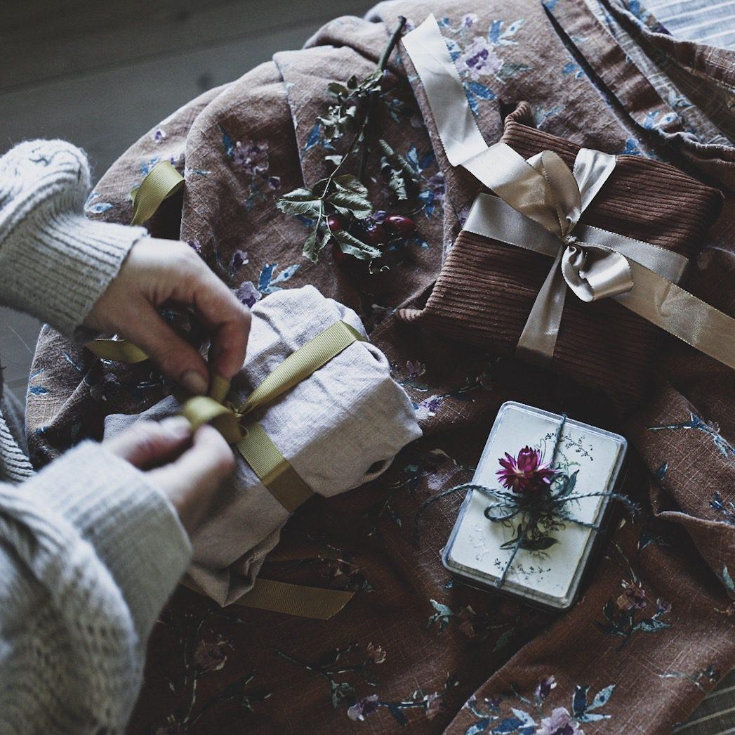 Lovely life DIY jul paketinslagningar