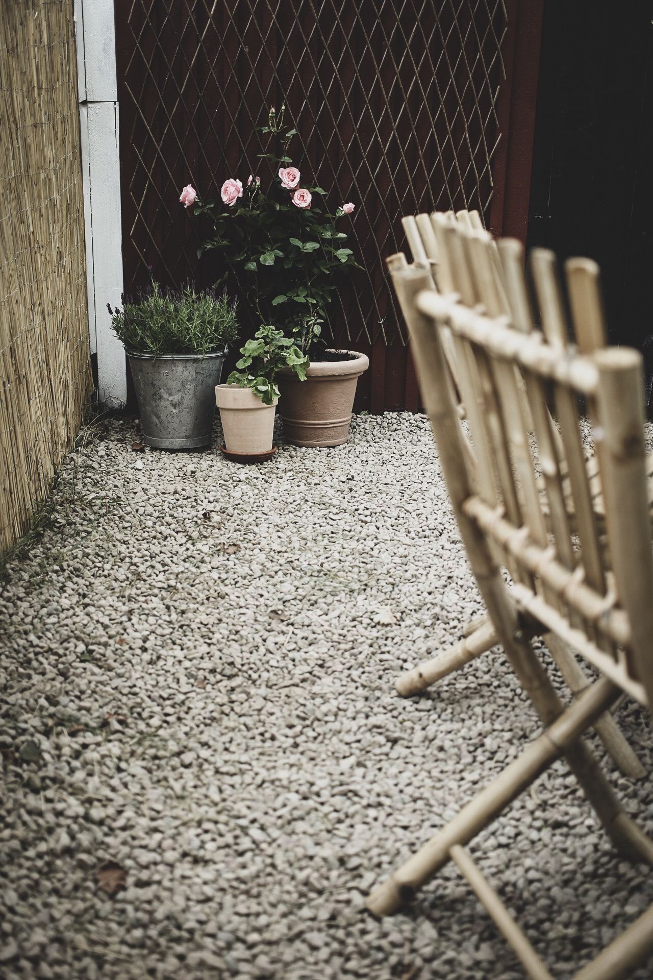 Lovelylife uteplats bambumöbler