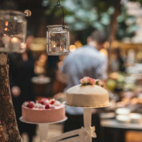 Bilder från bröllopsbrunchen i Umeå