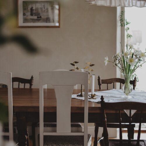 Samma gamla köksbord, fast i ny tappning.
