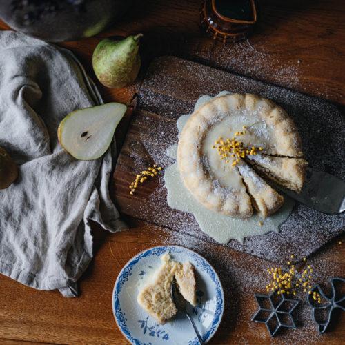 Sockerkaka med smak av päron
