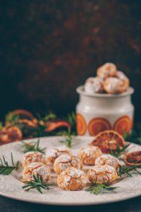 mandelkakor med julig smak