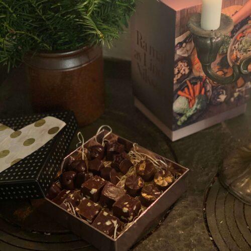 Rå choklad, bästa julklappen!