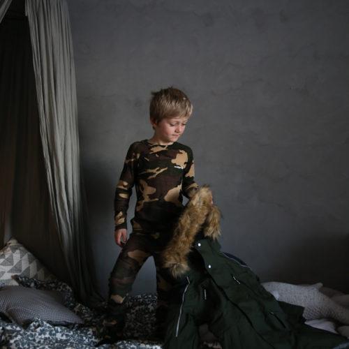 Vinterkläderna till barnen