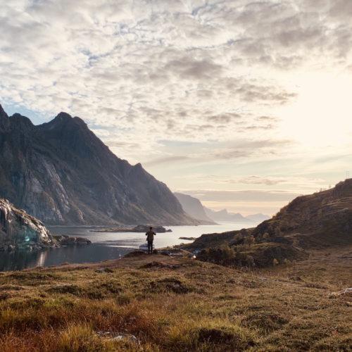 Framme i Lofoten