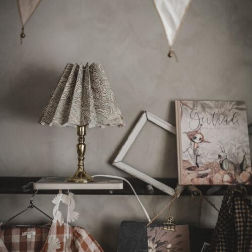 DIY lampskärm av tapet