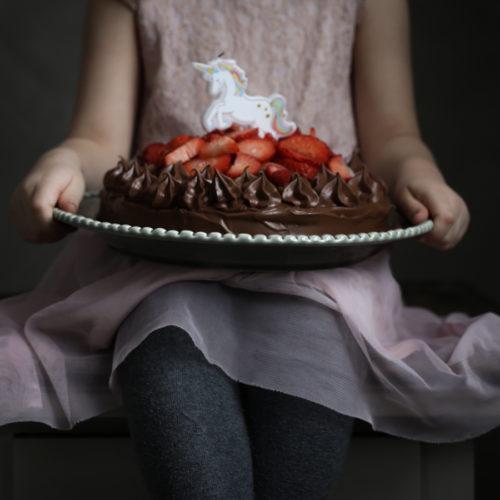Kalas och världens godaste chokladtårta
