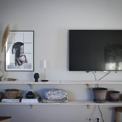 Våran lösning för TV:n