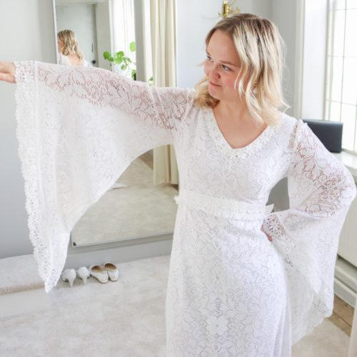 Fotografering av Second Hand Brudklänningar