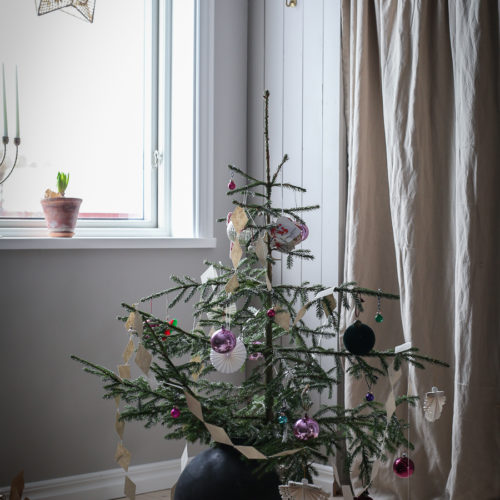 Barnens gran och tips för en hållbar jul!