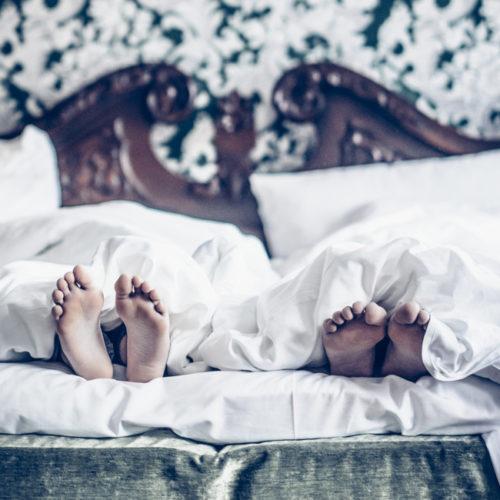 Sleepover på Hotel Eggers.