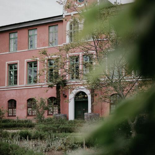 Den rosa drömmen på Hoby Kulle Herrgård.