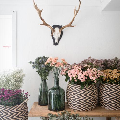 Blomworkshop, bloggdrömmar och kreativitet på Siggesta gård