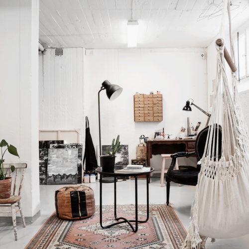 Rum i vår studio uthyres till kreativ person