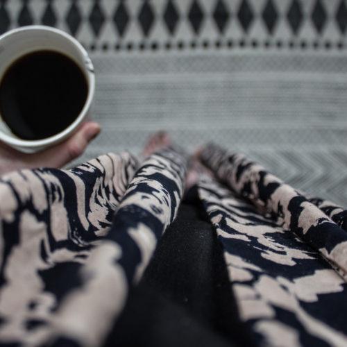 Långsam lördag och ny kimono.
