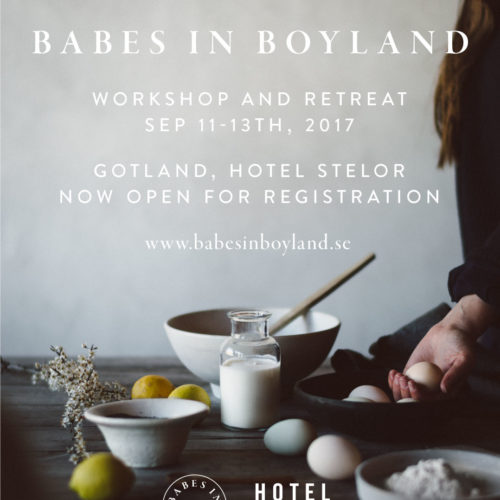 Workshop and retreat, Gotland, 11-13 September
