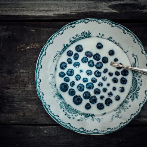 blåbärsfrukost